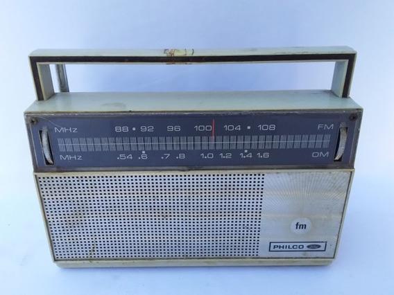 Antigo Radio Portátil Philco Ford (cod.4840)