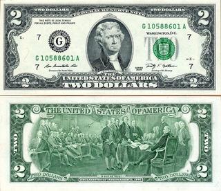 Estados Unidos - 2 Dólares Unc !!!