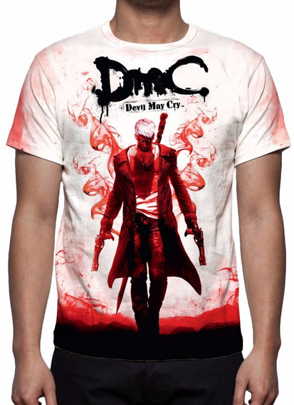 Camisa, Camiseta Game Devil May Cry 5 Definitive Edition