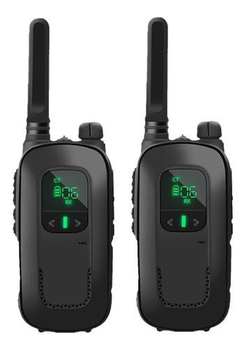 Walkie Talkie Radio Infantil Juguete Comunicacion Recargable