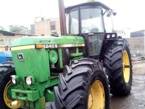 Tractor John Deere 4240 S -132 Hp