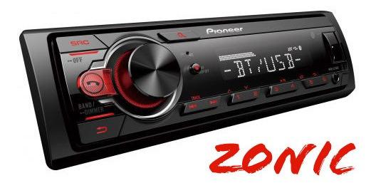 Stereo Pioneer Mvh 215bt Usb,am,fm,aux, Bluethoot Instalado