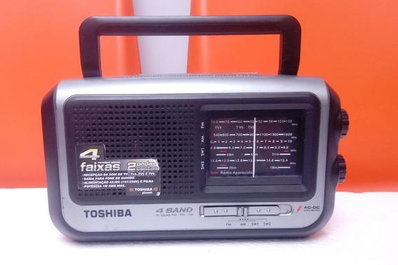 Radio Toshiba Tr 449sp 4 Band Am/fm/sw1-2 Funcionando