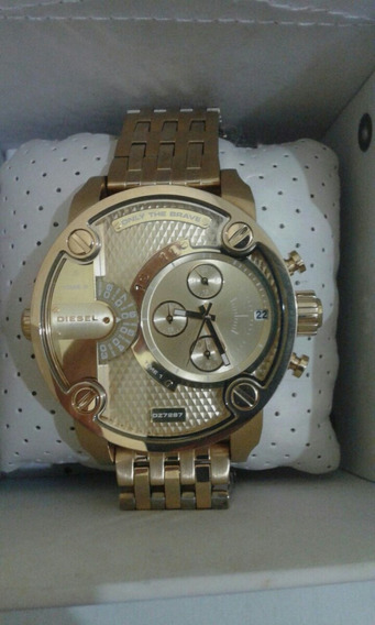 Relógio Diesel Dz7287 Dourado Original