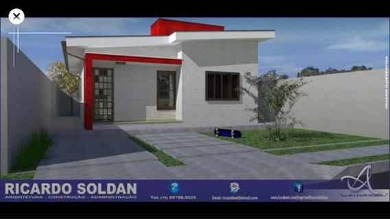 Casa 2 Quartos, Sala 2 Amb., Lavand Fechada, Varanda Churr