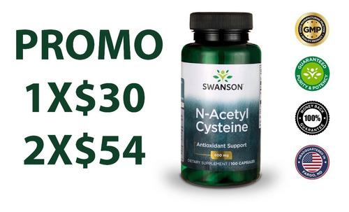 Imagen 1 de 7 de N-acetil Cisteína Nac 600mg Con 100 Cápsulas Americano