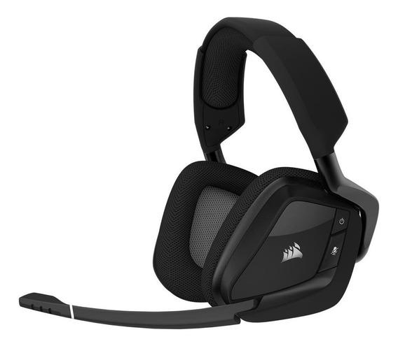 Headset Corsair Gamer Void Pro Rgb Sem Fio Com Dolby® 7.1