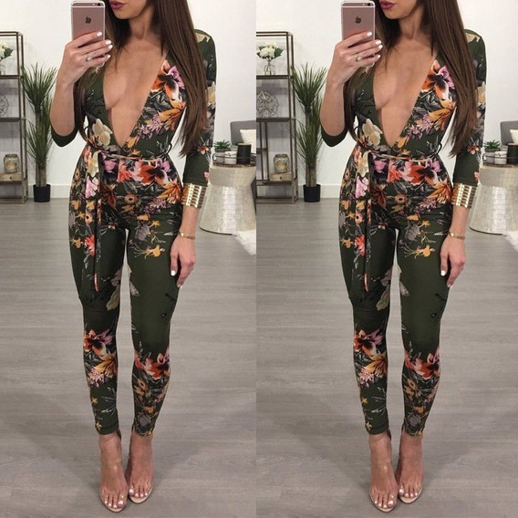 Enterizos Elegantes En Pantalon Mujer Mercadolibre Com Co