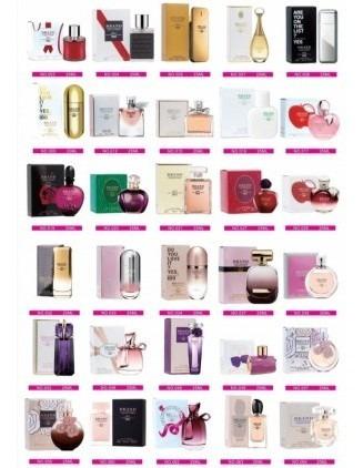 5 Perfumes De Bolsa Miniatura Brand Collection Edp 25 Ml