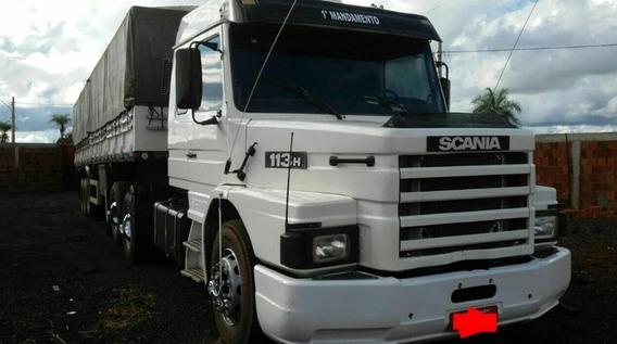 Scania 113 360 Top Line Com Graneleiro Ls 1998