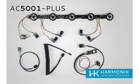 Microfone Captação Para Acordeon Harmonik Ac5001 Plus Comple