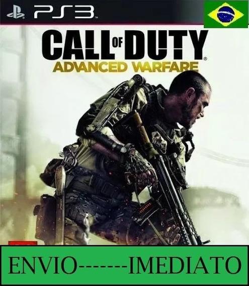Call Of Duty Advanced Warfare Ps3 Psn Mídia Digital