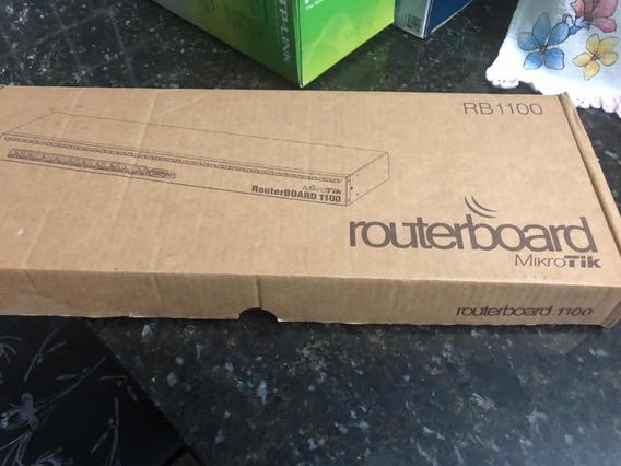Routerboard 1100 Mikrotik Usado Apenas 4 Meses Empresa Fecho