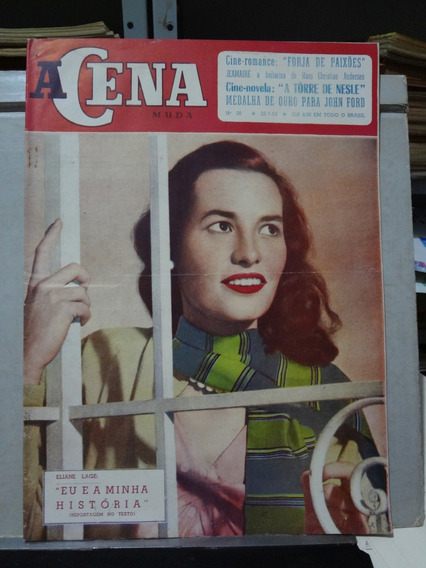 Revista A Cena Muda Nº 30 1953 Eliane Lage