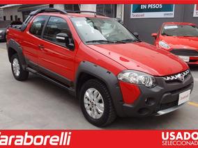 Fiat Strada Adventure 1.6 16v 2015 Rojo Taraborelli Palermo