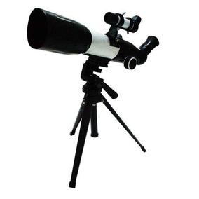 Telescópio Astronômico Profissional Refletor 350x60mm Tripé