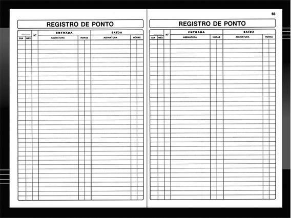 Livro Ponto Oficio 100 Folhas Sao Domingos Pct.c/05