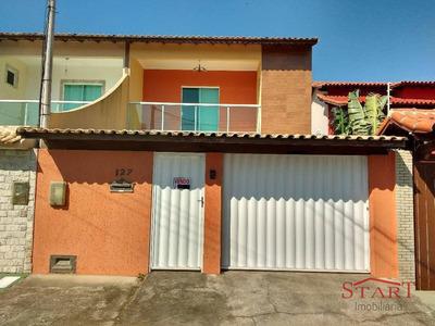 Casa Residencial À Venda, Jardim Excelcior, Cabo Frio. - Ca0060