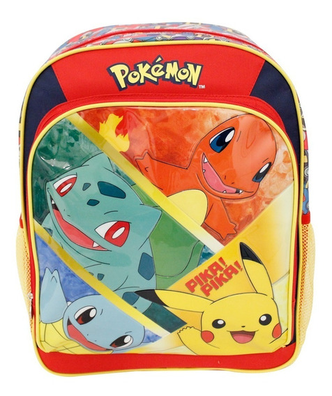 Ruz - The Pokemon Company Pokemon Mochila Primaria Infantil
