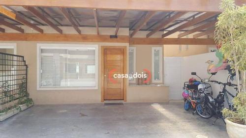 Casa Com 3 Dormitórios À Venda, 124 M² Por R$ 597.000,00 - Jardim Pagliato - Sorocaba/sp - Ca0617