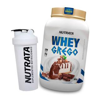 Whey Protein Grego Melhor Que Best Whey 900g + Brinde
