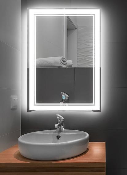 Lux Sany Gy-7013 Espejo De Tocador 60x80 Luz Led Touche