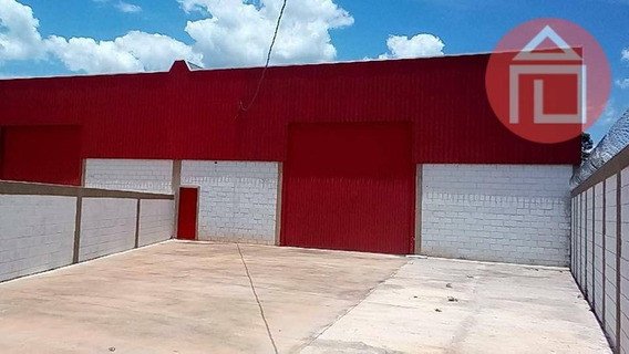 Galpão À Venda, 600 M² Por R$ 1.500.000 - Centro Industrial Raphael Diniz - Bragança Paulista/sp - Ga0186