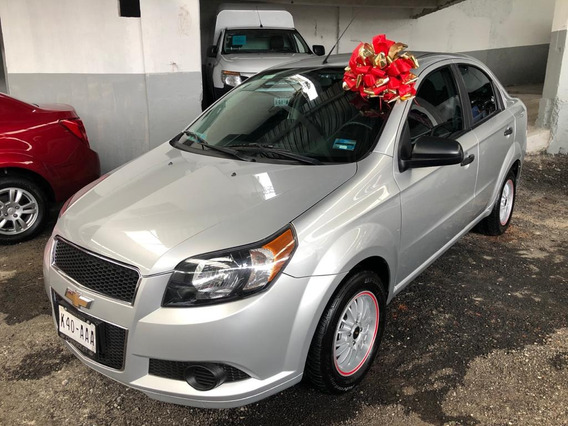 Chevrolet Aveo Automatico 2015!!! Impecable !!! Rines !!!