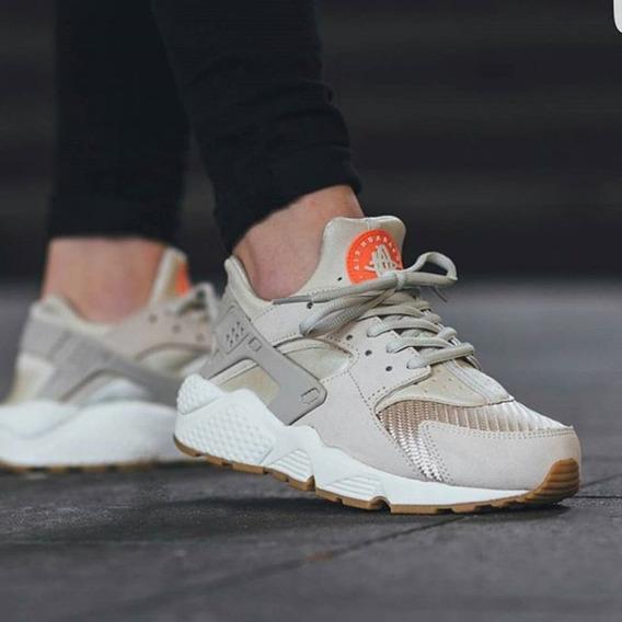 Zapatillas Nike Huarache Hueso Crema Talla 36.5 No adidas