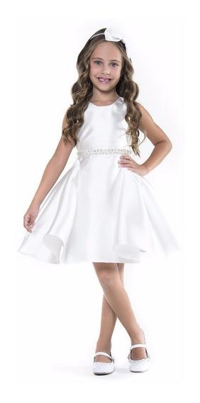 Vestido Petit Cherie Branco 10.09.31374