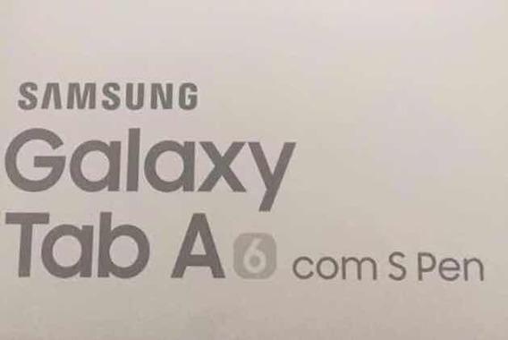 Samsung Galaxy Tab A6 Com S Pen- Tela De 10.1 -16gb 4g