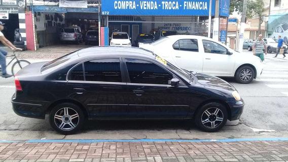 Honda Civic 2002 1.7 Lx Aut. - Esquina Automoveis