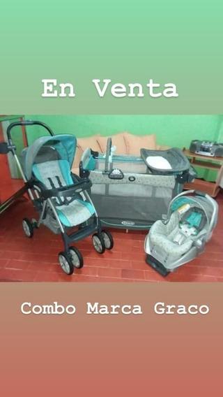 Combo Graco De Coche Porta Bebe Y Corral