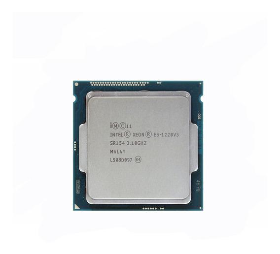 Processador Intel Xeon E3-1220 V3 CM8064601467204 de 4 núcleos e 3.1GHz de frequência