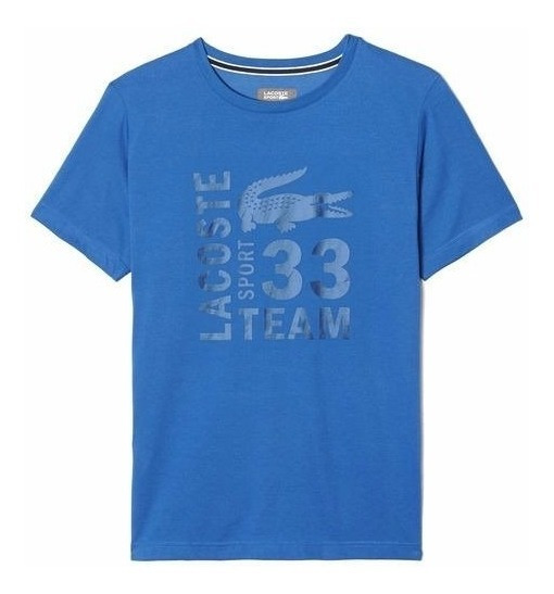 Camiseta Lacoste Fancy Azul T6