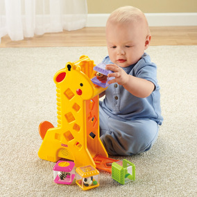 Girafa Peek-a-blocks - Fisher-price