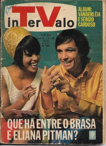 Revista-tv Intervalo 199-roberto Carlos,tonico Tinoco