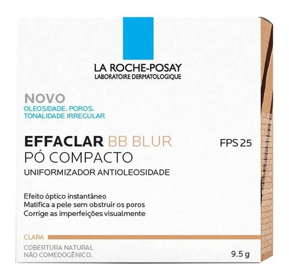 Pó Compacto Effaclar Bb Blur La Roche-posay Cor Clara 9,5g