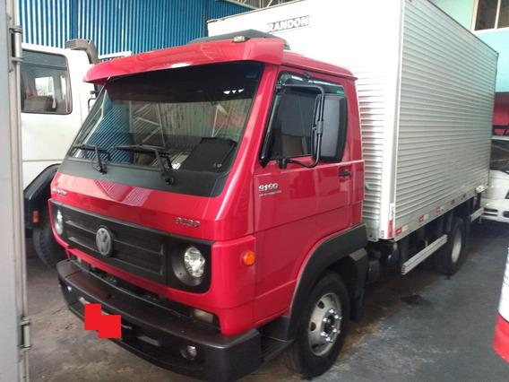 Caminhão 3/4 Vw 9160 Baú Isotermico Canaletado Porta Lateral