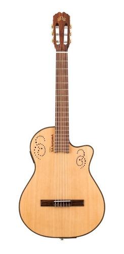 Guitarra Criolla Clasica La Alpujarra 300kec Tipo Godín