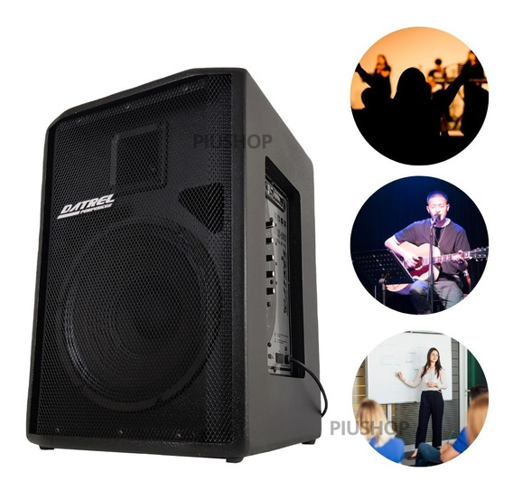 Caixa De Som Ativa Amplificada Bluetooth / Usb 12 250w