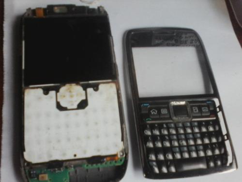 Nokia  E71-3-rm407-carcaça-frontal Completo