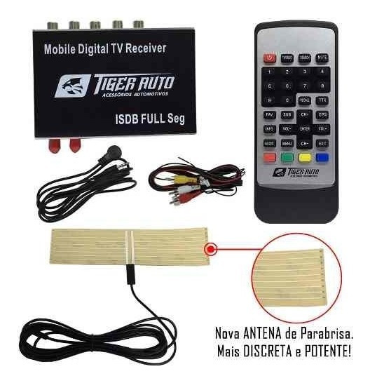 Receptor Sintonizador Tv Digital Full Hd Multimídia Pioneer