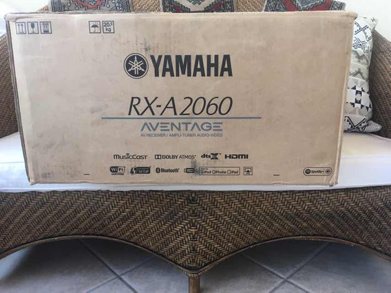 Receiver Yamaha Rx-a2060, Aventage, Dolby Atmos.