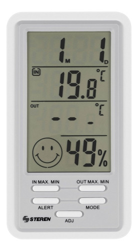 Termometro Digital Y Sensor De Humedad Con Fecha Hora