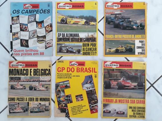 Matérias Especiais F1 Senna Piquet Prost Emerson Gp Brasil