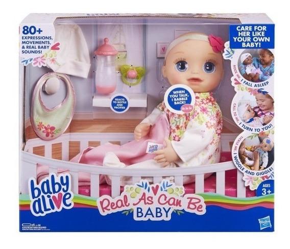 Baby Alive Interactiva Mi Bebita De Verdad Nuevo Modelo