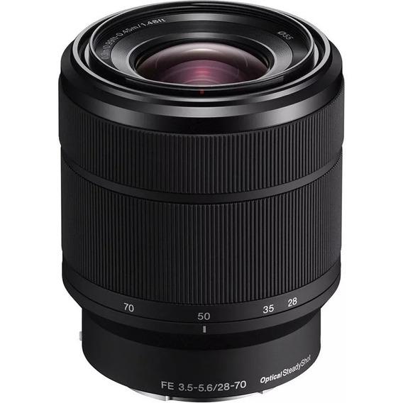 Lente Sony Fe 28-70mm F/3.5-5.6 Oss E-mount Sel2870 Nova