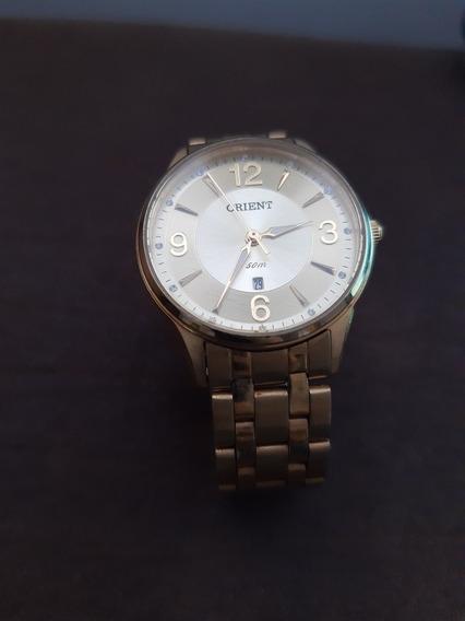 Relógio Orient Dourado Fgs1119