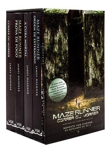 Livro - Box Maze Runner